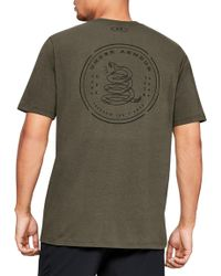 fc4ce450 Lyst - Under Armour Wounded Warrior Project Freedom Flag Long Sleeve ...