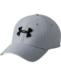 87102594150a5 Lyst - Under Armour Blitzing 3.0 Trucker Hat in Gray for Men