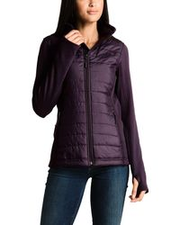 4f0af36ab Lyst - The North Face Mashup Insulated Jacket in Purple