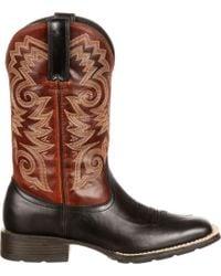 Durango - Mustang Western Boots - Lyst