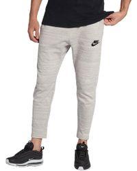 Lyst - Nike Sportswear Advance 15 Jogger in Gray for Men 463558c5f
