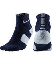 Nike - Elite High Quarter Basketball Socks - Lyst