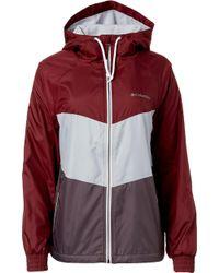 Columbia - Torrey Peak Hooded Windbreaker Jacket - Lyst