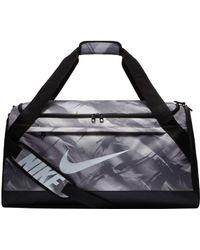 90ec3a5b0b Nike - Rasilia Medium Printed Training Duffle Bag - Lyst
