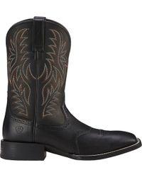 Ariat - Sport Rider Western Boots - Lyst