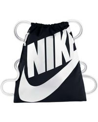 sports shoes 63117 346a3 Nike - Heritage Sack Pack - Lyst