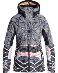 Roxy - Frozen Flow Jacket - Lyst