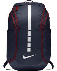 Lyst - Nike Air Hoops Elite Basketball Backpack in Black for Men 78ff43c7d5c27