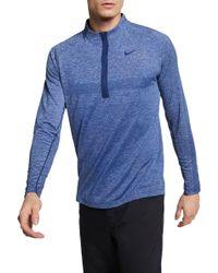 Nike - Seamless Statement Golf 1⁄2 Zip - Lyst