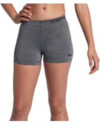 "Nike - Pro 3"" Compression Shorts - Lyst"