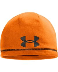 3d052980a8d Men s Ua Camo Outdoor Fleece Beanie.  25. Under Armour · Under Armour - Outdoor  Fleece Beanie - Lyst