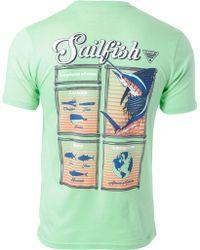 2305761a21784 Columbia - Pfg Sailfish Driftwood Short Sleeve T-shirt - Lyst