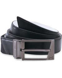 Under Armour - Stretch Reversible Leather Golf Belt - Lyst