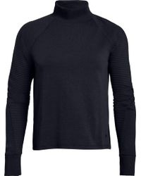 Under Armour - Unstoppable Double Knit Mock Neck Long Sleeve Shirt - Lyst