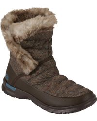 The North Face   ® Thermoballtm Microbaffle Bootsie Iii Winter Boots   Lyst