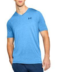 Under Armour - V-neck Tech T-shirt - Lyst