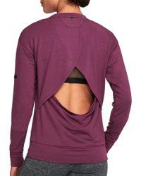Under Armour - Unstoppable Knit Crewneck Sweatshirt - Lyst