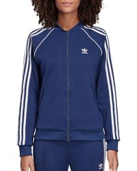 87164951a379 Lyst - adidas Originals Originals Oversized Quilted Bomber Jacket in ...