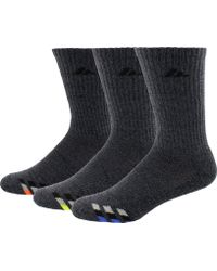 adidas - Cushioned Color Crew Socks 3 Pack - Lyst