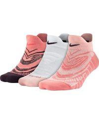 Nike | Dri-fit Low Cut Training Socks 3 Pack | Lyst
