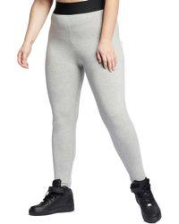 533431cdbe403c Nike - Plus Size Hw Futura Leg-a-see Leggings - Lyst
