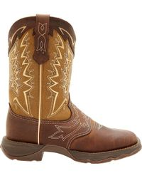 Durango | Lady Rebel Let Love Fly Western Boots | Lyst