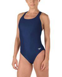 Speedo - Super Pro Racerback Swimsuit - Lyst