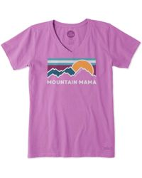 6e3b8d70 Bandit Brand Mountain Mama Tee in White - Lyst