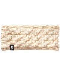 The North Face - Fuzzy Cable Ear Band - Lyst