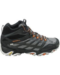 Merrell | Moab Fst Mid Waterproof Hiking Boots | Lyst