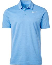 Nike - Heather Dry Golf Polo - Lyst