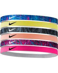 Nike - Swoosh Headbands – 6 Pack - Lyst
