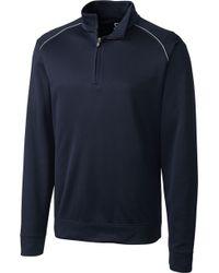 Cutter & Buck - Weathertec Ridge Half-zip Golf Pullover - Big & Tall - Lyst