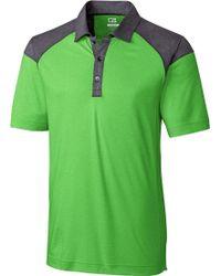 Cutter & Buck - Cb Drytec Chelan Colorblock Golf Polo - Lyst