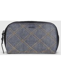 DIESEL - Cosmetic Case With Oversize Zip Pull - Lyst