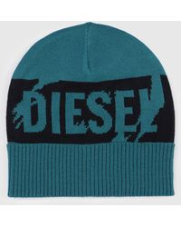 d15bfefbe27 DIESEL - Hat With Oversize Scratched-logo - Lyst