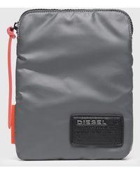 DIESEL - Cross Body Bag With Logo Patch - Lyst