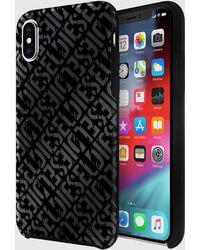 DIESEL - Distressed Logo Pattern Case, Iphone Xs & Iphone X - Lyst