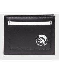 DIESEL - Compact Wallet With Monochrome Details - Lyst