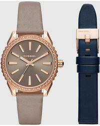 DIESEL - Watch With Interchangeable Straps, 38 Mm - Lyst