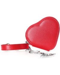 Vivienne Westwood - Women's Johanna Heart Coin Case With Orb Gadget Red - Lyst