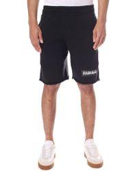 Napapijri - Tie Waist Naray Shorts - Lyst