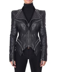 Forever Unique - Women's Pulp Faux Leather Jacket Black - Lyst