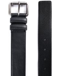 a8df0202a6 Moschino Logo Belt - For Men in Black for Men - Lyst