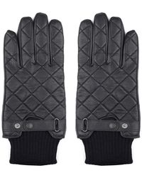 Barbour - Quilted Leather Gloves - Lyst