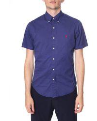 Polo Ralph Lauren - Slim Fit Short Sleeve Sport Shirt - Lyst