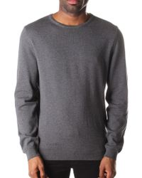 BOSS Black - Fines Slim Fit Crew Neck Pullover Knit - Lyst