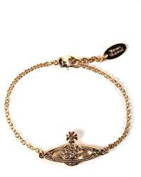 Vivienne Westwood - Mini Bas Relief Women's Chain Bracelet Gold - Lyst
