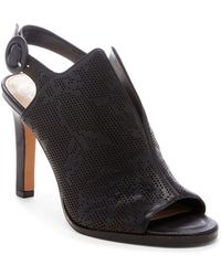 c7c2b2be8aa Vince Camuto - Nattey2 Perforated Leather Sandals - Lyst