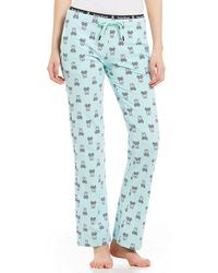Psycho Bunny - Bunny-print Knit Sleep Pants - Lyst